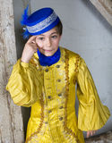 Young boy dressed as a prince Stock Images