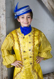 Young boy dressed as a prince Stock Photography