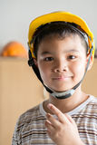 Young boy engineer Royalty Free Stock Images