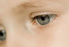 Young boy eyes Royalty Free Stock Image