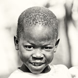 A young boy from Ghana Stock Photo