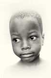 Young boy from Ghana Royalty Free Stock Photo