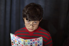 Young boy in glasses Royalty Free Stock Photo