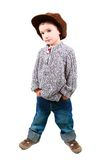 Young boy with hands in pockets Royalty Free Stock Photos