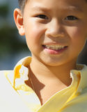 Young boy headshot Stock Photography