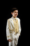 Young boy in his First Communion Stock Image