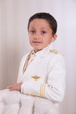 Young boy in his First Communion Royalty Free Stock Photo