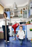 Young boy at home Royalty Free Stock Photos