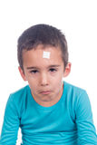 Young boy hurt Stock Photography