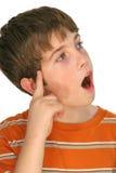 Young boy idea 2. Photo of a young boy idea 2 Stock Photo