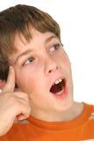 Young boy idea. Photo of a young boy idea Stock Photos