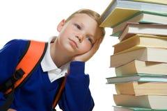 Young Boy In School Uniform Royalty Free Stock Photos
