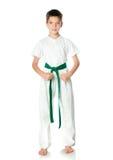 Young boy in kimono Royalty Free Stock Photos