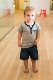 Young Boy in Kindergarten stock image