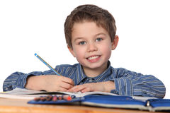 Free Young Boy Learning Stock Photos - 18339203