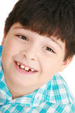 Young boy looking at camera Royalty Free Stock Photos