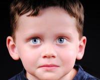 Young Boy Looking Serious Stock Photos