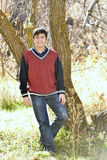 Young boy. In Melendiz river in the Ihlara valley. Cappadocia Turkey Stock Photos