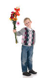 Young boy mother day Stock Photos