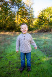 Young Boy Outdoors Portrait Royalty Free Stock Photos