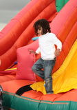 Young boy playing. Stock Photo