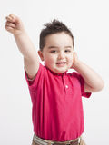 Young boy playing Royalty Free Stock Photos