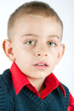 Young boy portait Royalty Free Stock Photo