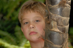 Young boy portrait Royalty Free Stock Images