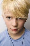 Young boy portrait Stock Images