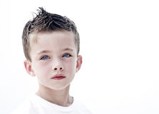 Young boy portrait Stock Image