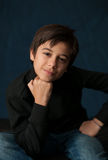 Young Boy Portrait Royalty Free Stock Photography