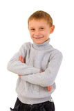 Young Boy Portrait. Front View. Stock Images