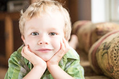Young Boy Portrait Stock Photography