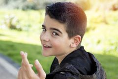Young boy portrait Royalty Free Stock Photos