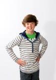 Young Boy Posing Stock Image