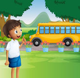 A young boy ready for school Royalty Free Stock Photo