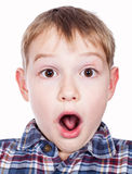 young boy's silly face Royalty Free Stock Photography
