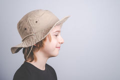 Young boy scout smiling portrai Stock Photography