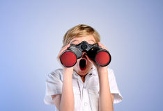 Young boy search Royalty Free Stock Images