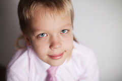 Young boy smile Stock Photography