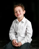 Young boy smiling Royalty Free Stock Photography