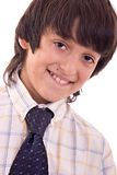 Young boy smiling stock image