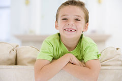 Young Boy Smiling At Camera Royalty Free Stock Image
