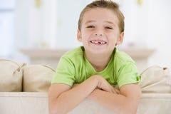 Young Boy Smiling At Camera Royalty Free Stock Image