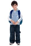 Young boy standing Royalty Free Stock Photo