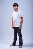 Young boy standing Stock Photography