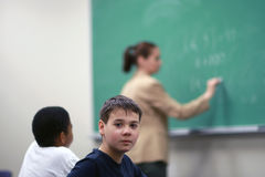 Young boy student Stock Photos