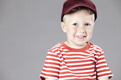 Young boy in studio Stock Photography