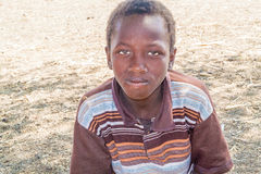 Young boy in Sudan Stock Photography
