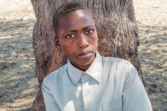 Young boy in Sudan Stock Photo
